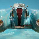Vintage Sky Car by Phil Rowe