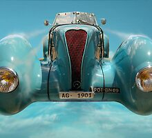 Vintage Sky Car by Phil Rowe