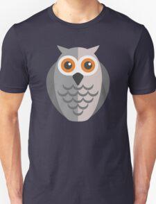 Friendly cartoon owl Unisex T-Shirt