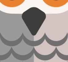 Friendly cartoon owl Sticker