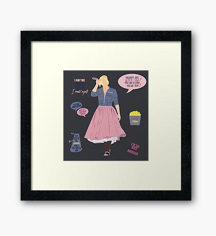 Rose Tyler Framed Print
