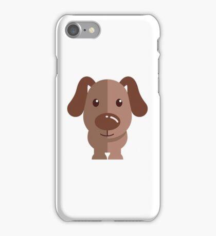 Adorable funny cartoon dog iPhone Case/Skin