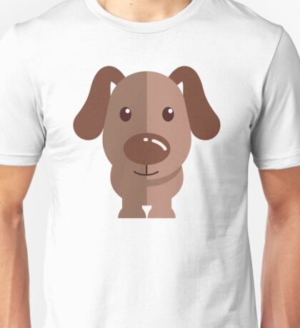 Adorable funny cartoon dog Unisex T-Shirt