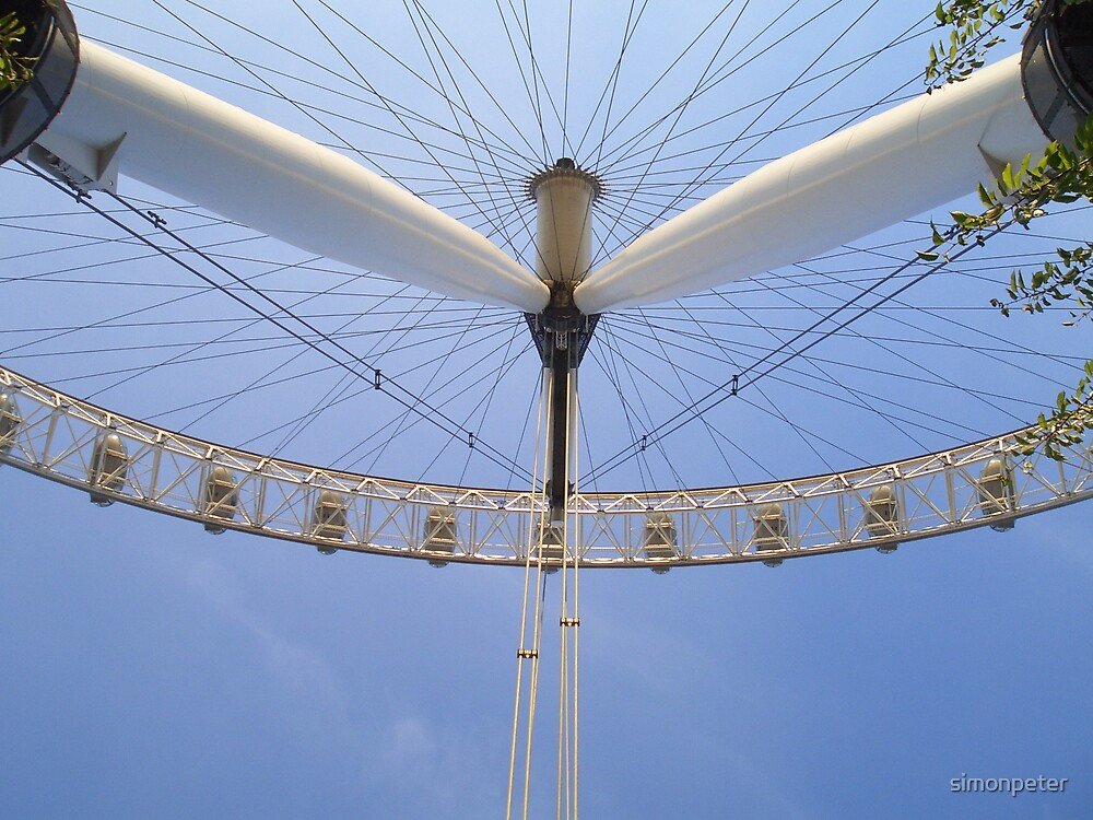 The Millenum wheel by simonpeter