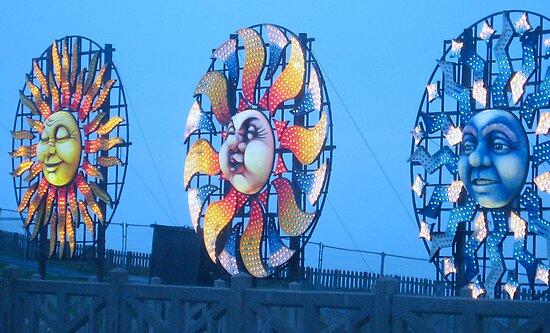 Blackpool Lights - 2 by Sharon Perrett