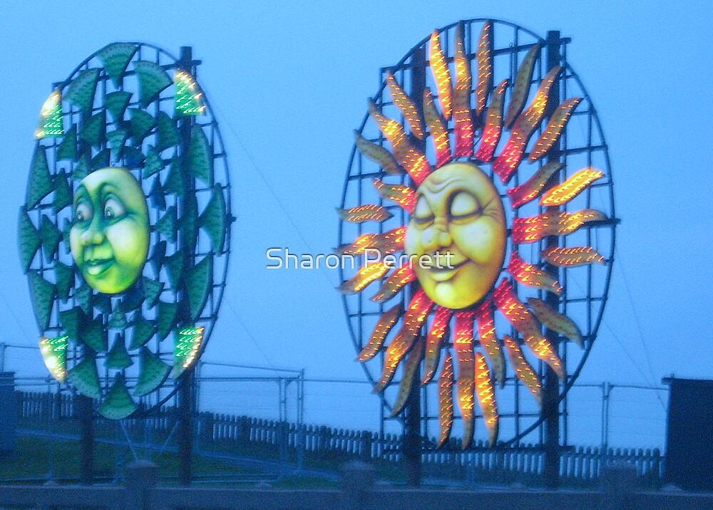 Blackpool Lights - 3 by Sharon Perrett
