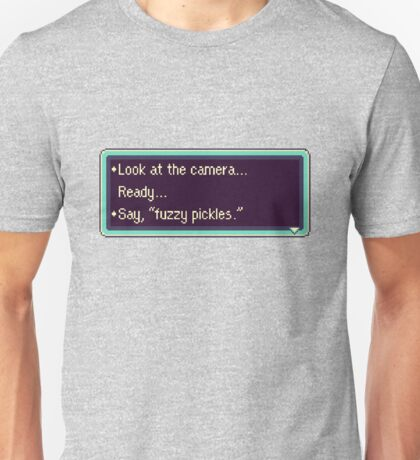 """Earthbound """"Fuzzy pickles"""" #2 Unisex T-Shirt"""