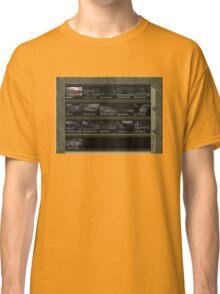 Goldeneye N64 Level Select Classic T-Shirt