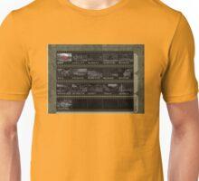 Goldeneye N64 Level Select Unisex T-Shirt