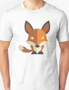 Friendly cartoon fox Unisex T-Shirt