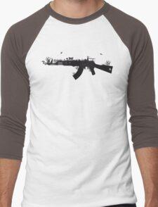 Ak47 Love & Peace Men's Baseball ¾ T-Shirt