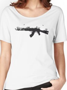 Ak47 Love & Peace Women's Relaxed Fit T-Shirt