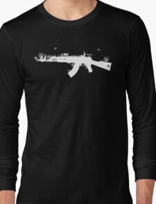 Ak47 Love & Peace (black) Long Sleeve T-Shirt