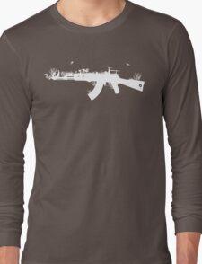 Ak47 Love & Peace (black) Long Sleeve T-Shirt