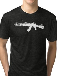 Ak47 Love & Peace (black) Tri-blend T-Shirt