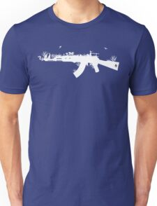 Ak47 Love & Peace (black) Unisex T-Shirt