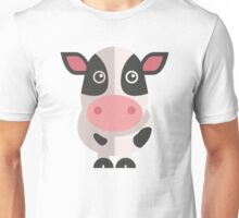 Funny cartoon cow Unisex T-Shirt
