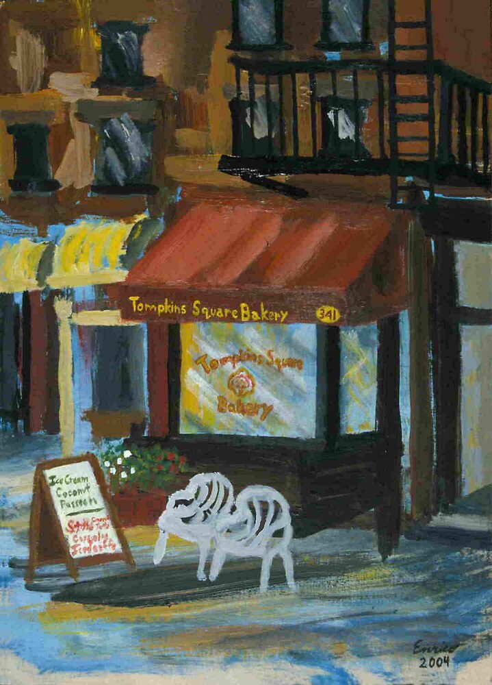 New York City Bakery by Enrico Thomas