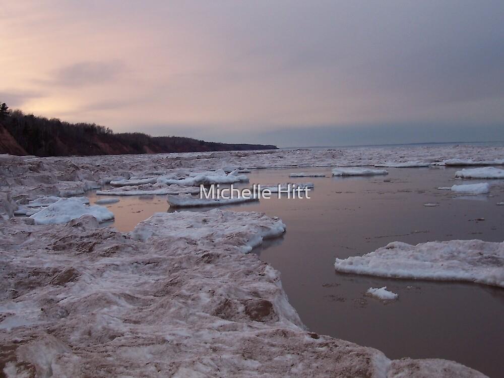 Lake Superior Winter by Michelle Hitt