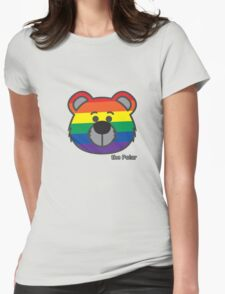 the Polar - Rainbow Womens Fitted T-Shirt