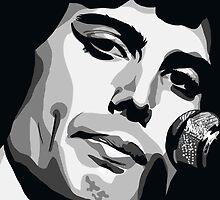 Freddie Mercury by mongogushi