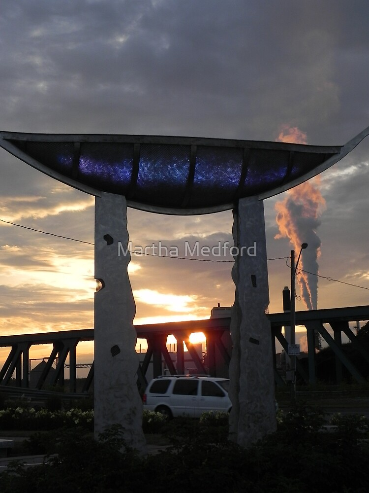 Memory Vessel As The Sun Sets by Martha Medford