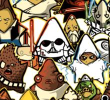 War of stars  Sticker