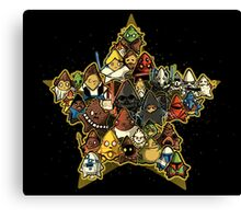 War of stars  Canvas Print