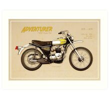 Triumph Trophy TR5T Art Print