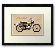 Triumph Trophy TR5T Framed Print