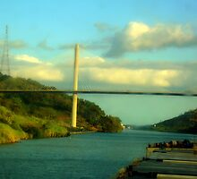 bridge on panama by Vineet