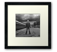 THE TRAVELLER Framed Print