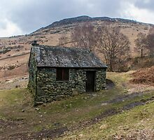 Ashness Bridge Shelter by Trevor Kersley