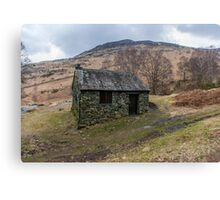 Ashness Bridge Shelter Canvas Print