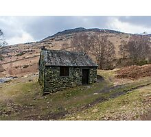 Ashness Bridge Shelter Photographic Print