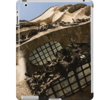 Wrought Iron, Glass and Stone Plus a Genius Imagination iPad Case/Skin