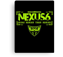 Nexus 6 Replicants Canvas Print