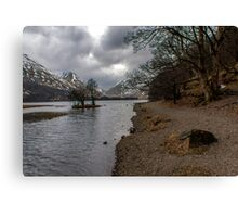 Brothers Water Shoreline Canvas Print