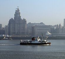 Ferry Across The Mersey by Sam Knox