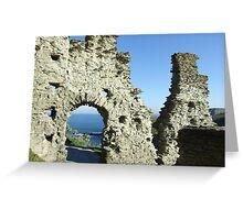 Tintagel Castle, Cornwall Greeting Card