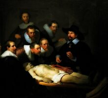 The Anatomy Lesson Of Dr. Nicolaes Tulp by BritishYank