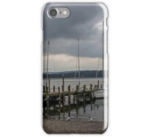 At The Jetty iPhone Case/Skin