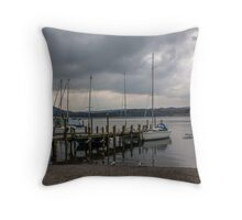 At The Jetty Throw Pillow