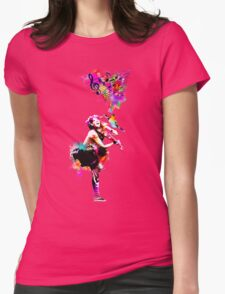 A Bird And The Violinist Womens Fitted T-Shirt