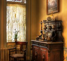 The corner in Grandma's Kitchen by Mike  Savad