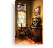 The corner in Grandma's Kitchen Canvas Print