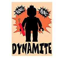 Dynamite Minifigure Photographic Print