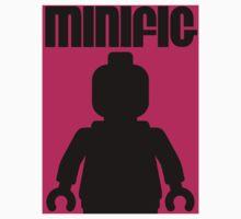 Retro Large Black Minifig  Kids Clothes