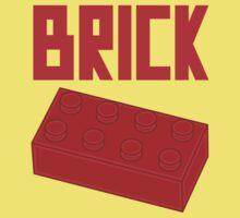 Red Brick One Piece - Short Sleeve