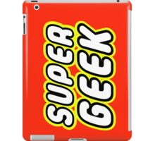 SUPER GEEK iPad Case/Skin